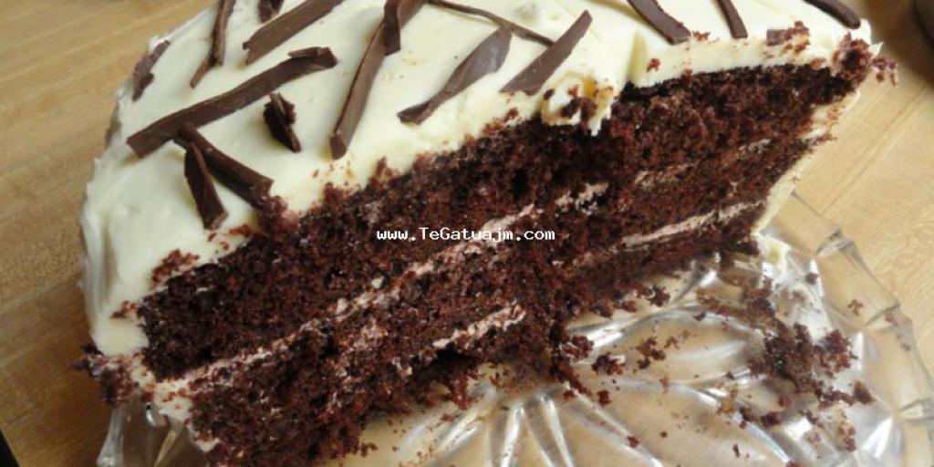 Tortë me nutela dhe çokollatë të bardhë
