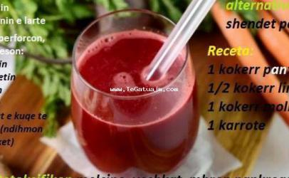 Një pije qudibërse që shëron shumë smundje