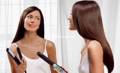 Si t'i drejtoni flokët pa përdorimin e hekurit