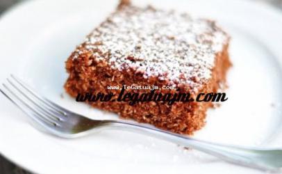 Torte me kokos, grize dhe kakao
