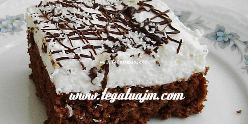 Torte me çokolate,jogurt,ajke dhe kokos