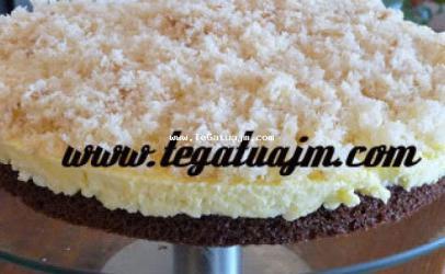 Torte me çokolate dhe kokos