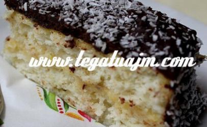 Torte me kokos dhe krem vanille