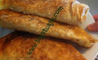 Byrek (mantia)  me djathë