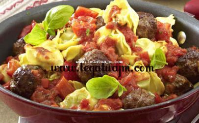 Toptha me mishë dhe makarona