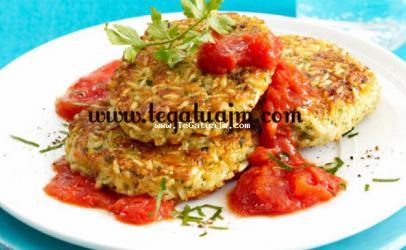 Oriz i ferguar ne salce domatesh
