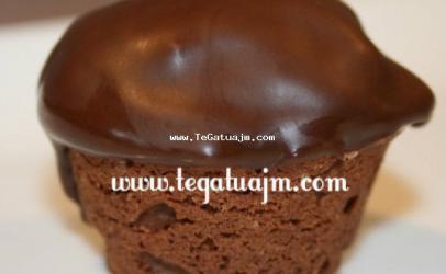 Mufins të vogla me arra dhe me kakao