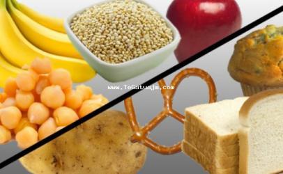 Dallimi në mes të karbohidrateve komplekse dhe atyre të thjeshta