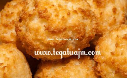 Biskota me miellë kokosi