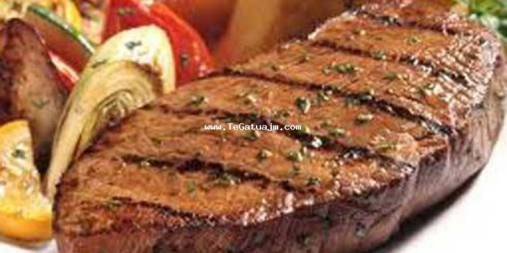 Mishe (rosto) viçi me qepe(biftek)