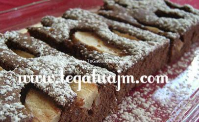 Torte me dardha dhe kakao