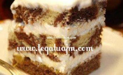 Torte nga pandispanja zeber