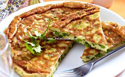Tortilla me boronia ( bizele)