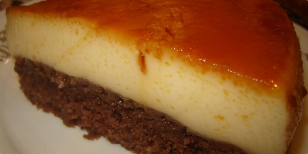 Torte me  krem karamel