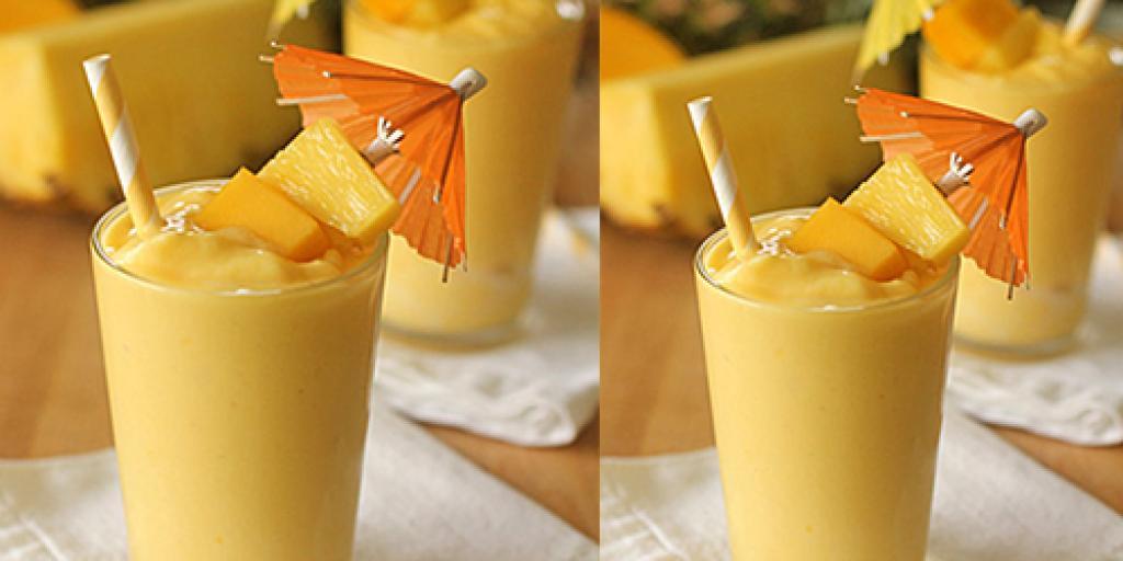 Smoothie me ananas