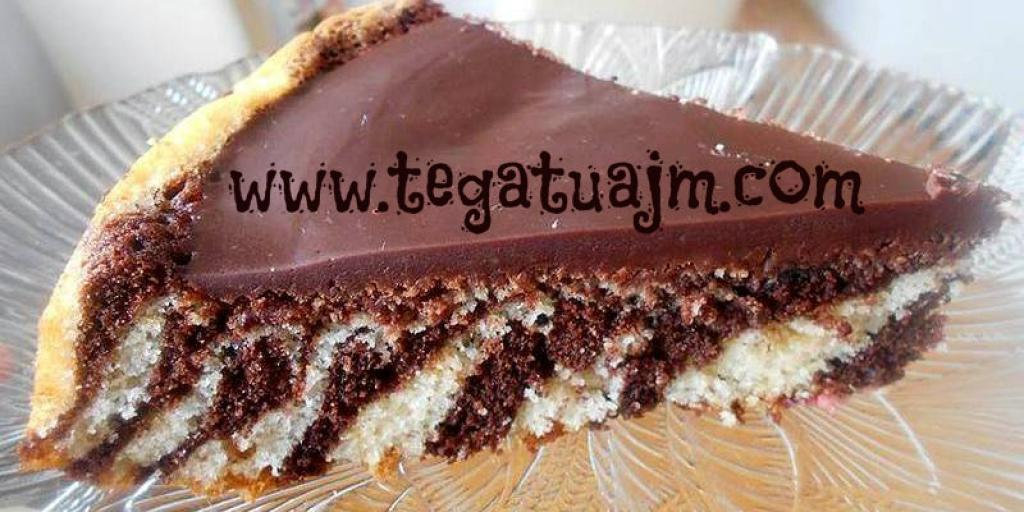 Torte Zebër me qokollad