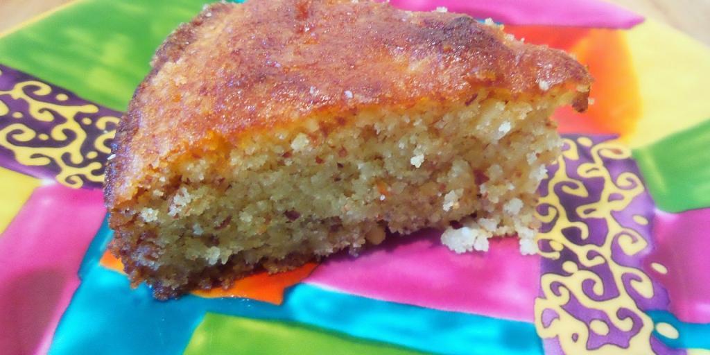 Torte e thjesht me limon dhe miell misri