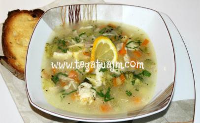 Supë peshku me perime