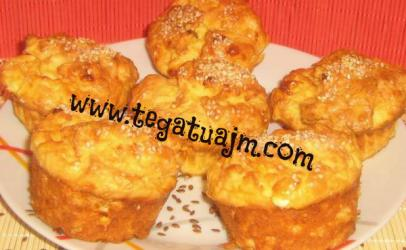 Mufinsa me djathe dhe susam