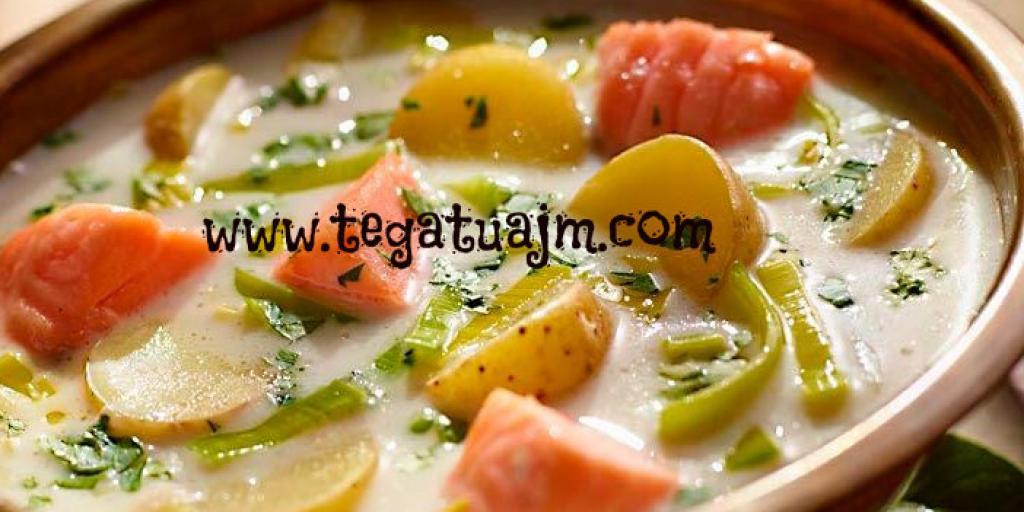 Sup me peshk salmon