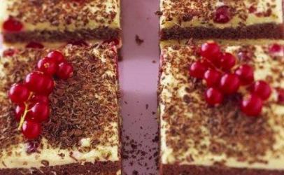 Torte me bruznica dhe çokolladë