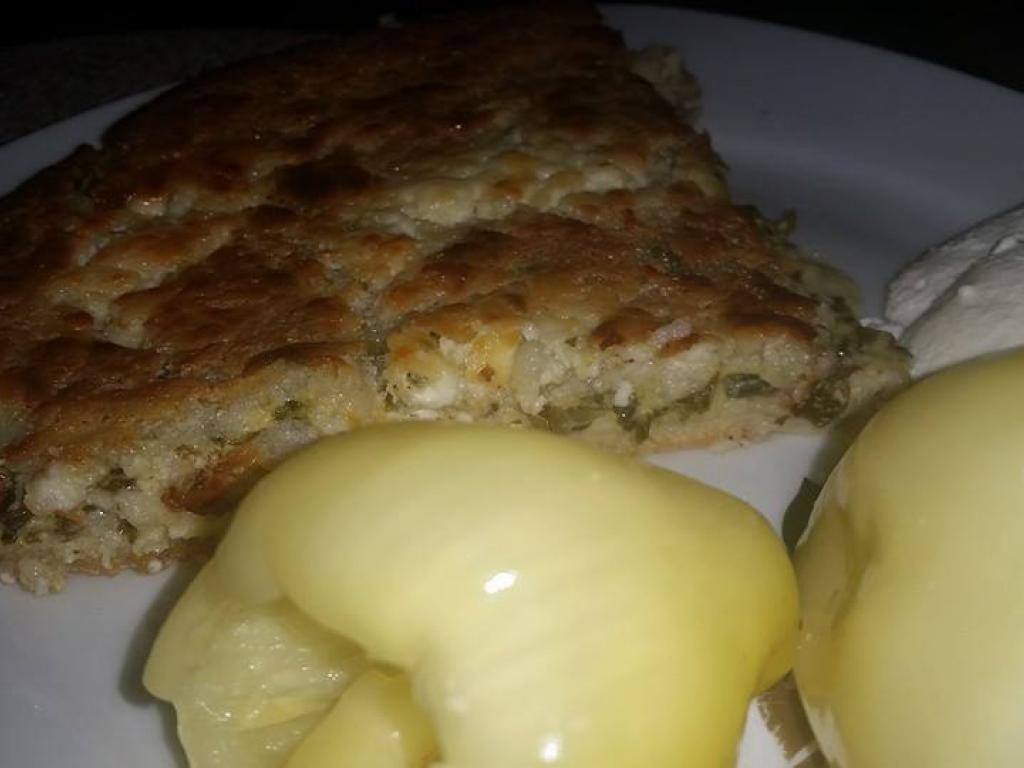 Pite me miellë misri