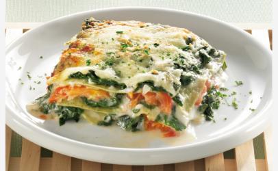 Lasagne me spinaq (lazanje)