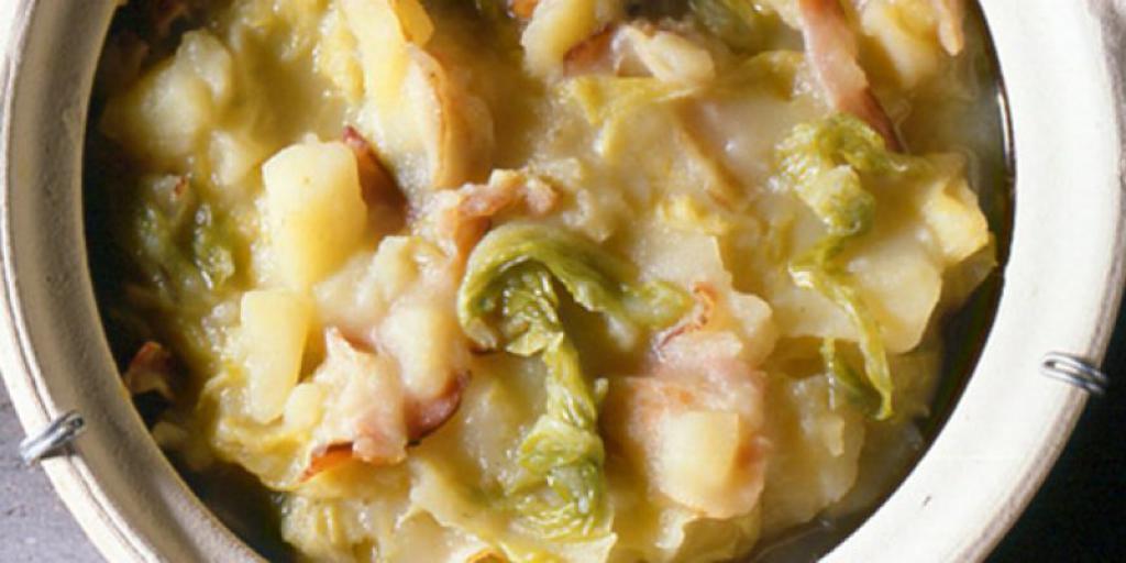 Supë me lakra  brukseli dhe patate