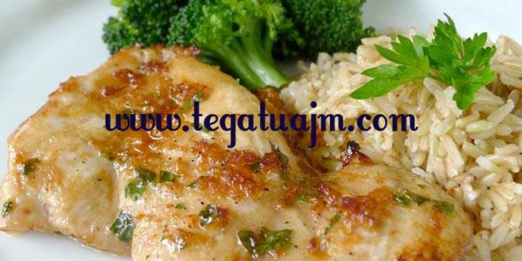 Mishë pule me rizoto dhe brokoli