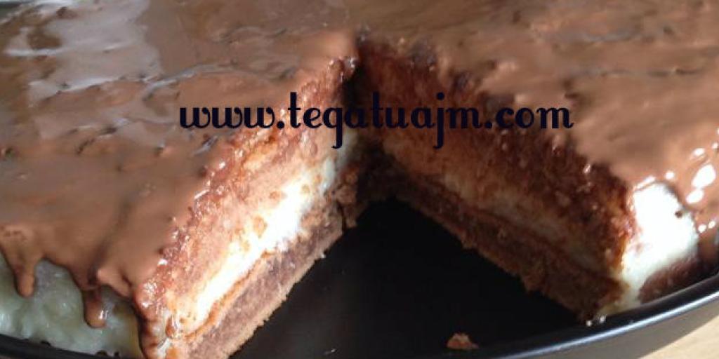 Embëlsirë me kremë  çokolade