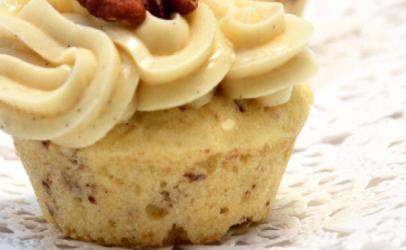 Mini Cupcakes me gjalp dhe arra (mufinsa)