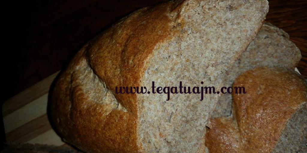 Bukë e zezë me miellë integral