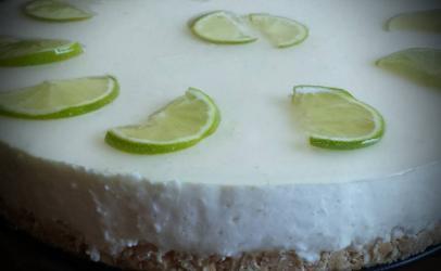Torte me limon (cheesecake)