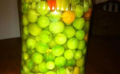 Sheri domate turshi nga Loli Dina