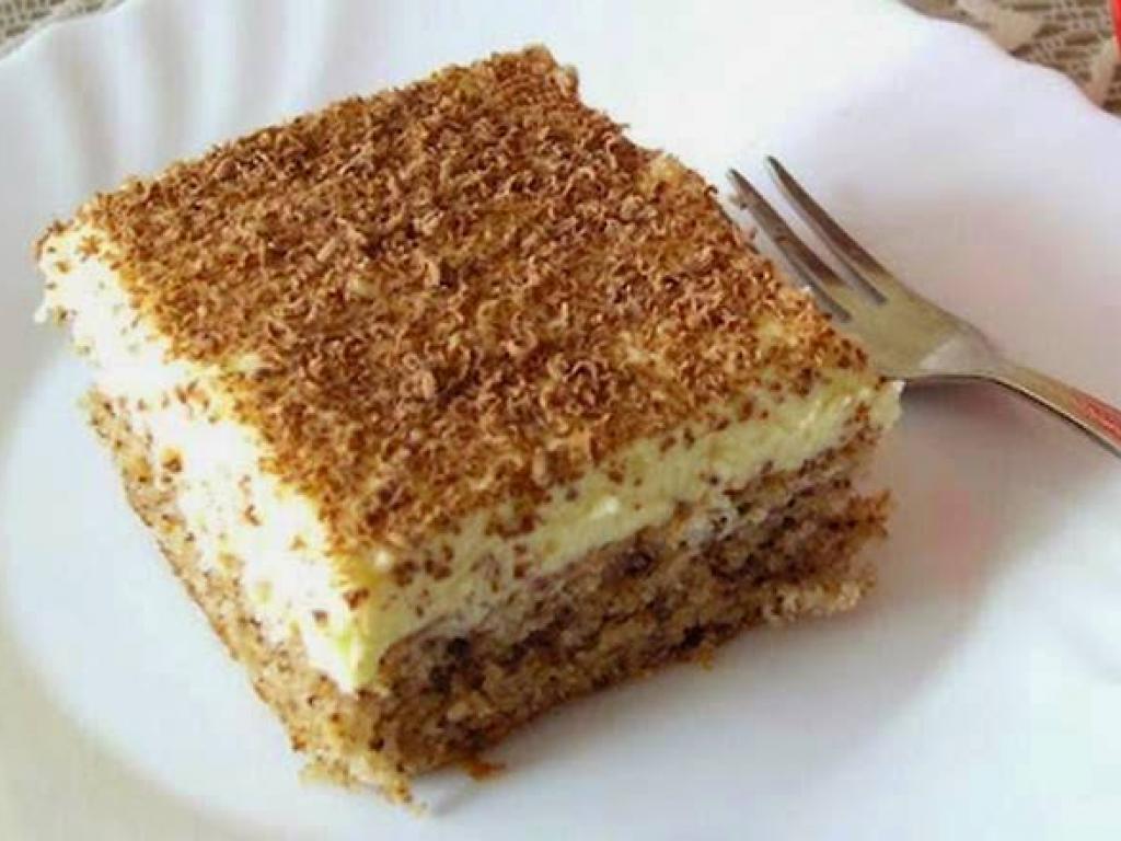 Torte me puding dhe arra