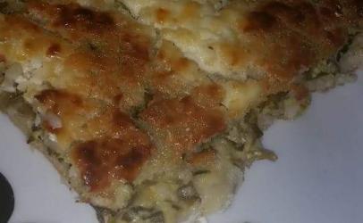 Pite e kallamojt gatuar nga tegatuajm