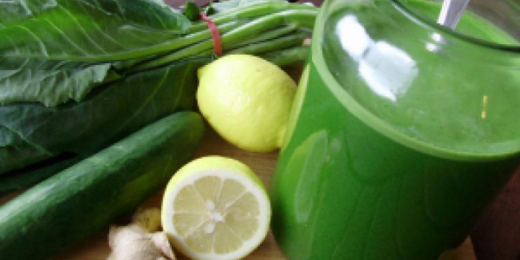 Lëngu i gjelbërt per nje shendet me te mire