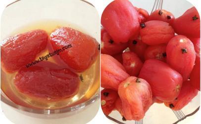 Reçelë me domate te kuqe