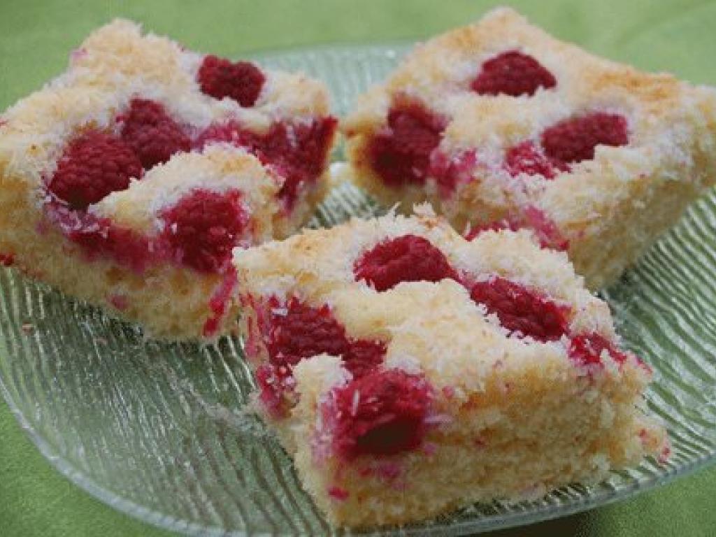Torte me malina dhe kokos
