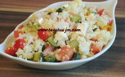 Sallatë me couscous nga ne