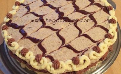 Torte me dy kreme per ditelindje