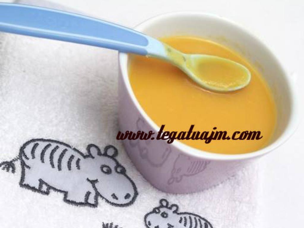 Krem supe me kungulle per femijet nga mosha 1 vjeqe