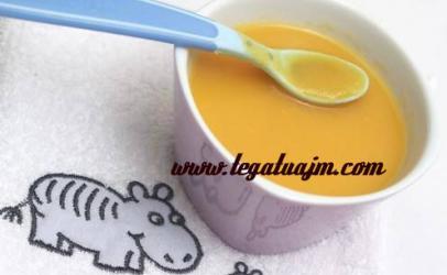 Krem supë me kungullë për fëmijë1 vjeq