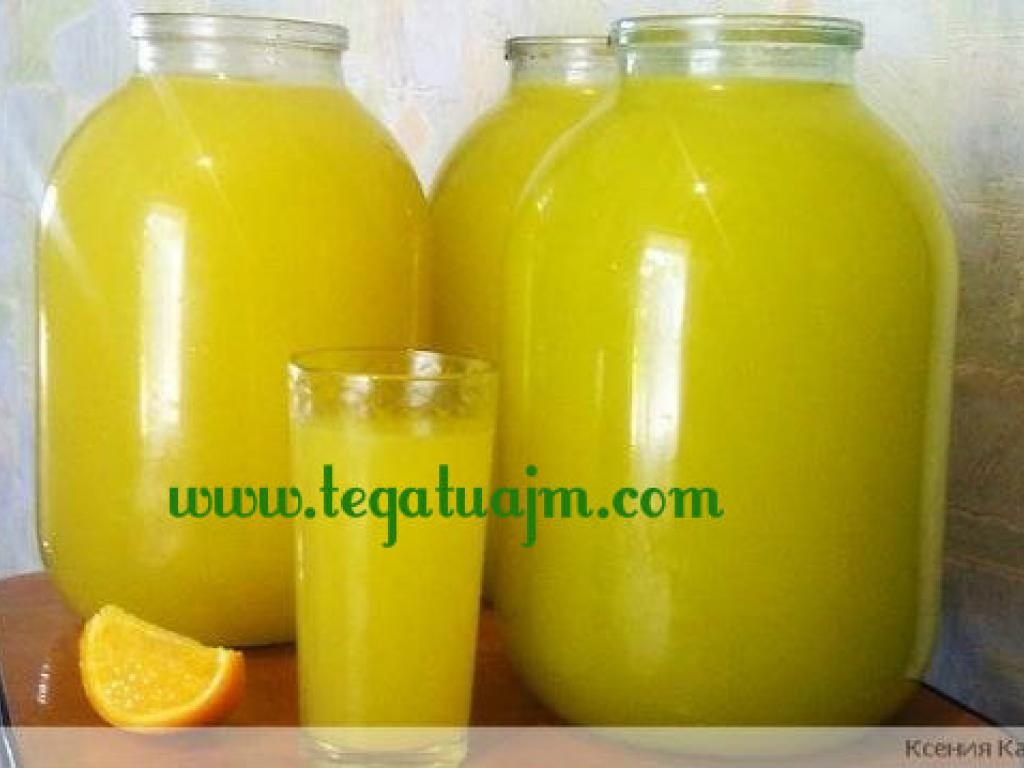 Pije freskuese  ne kushte shtepije (limonad)