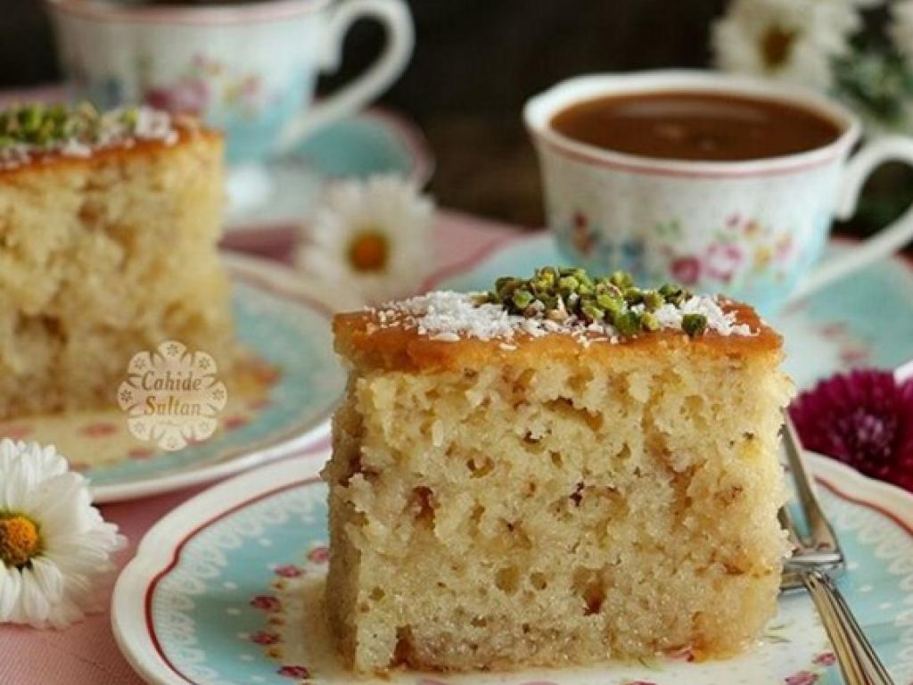 Torte e shpejt me sherbetë