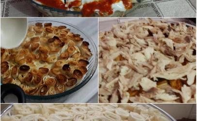 Mantıa me jufka dhe mishe pule nga  Kaltrina Berisha