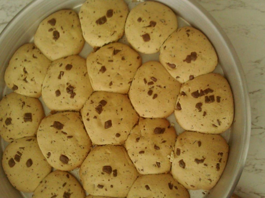 Biskota me çokollatë