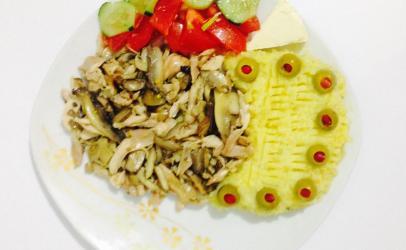 Mishe pule me kepurdha dhe pure nga Lulja La