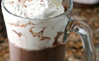 Çokollatë e ngrohtë me nutella