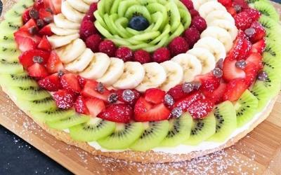Picë me fruta të shijshme